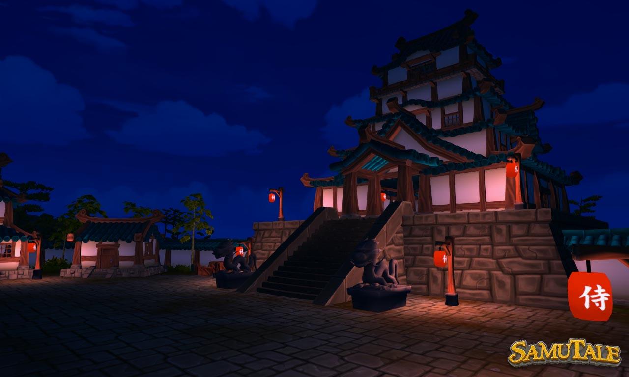 New Okura Village castle