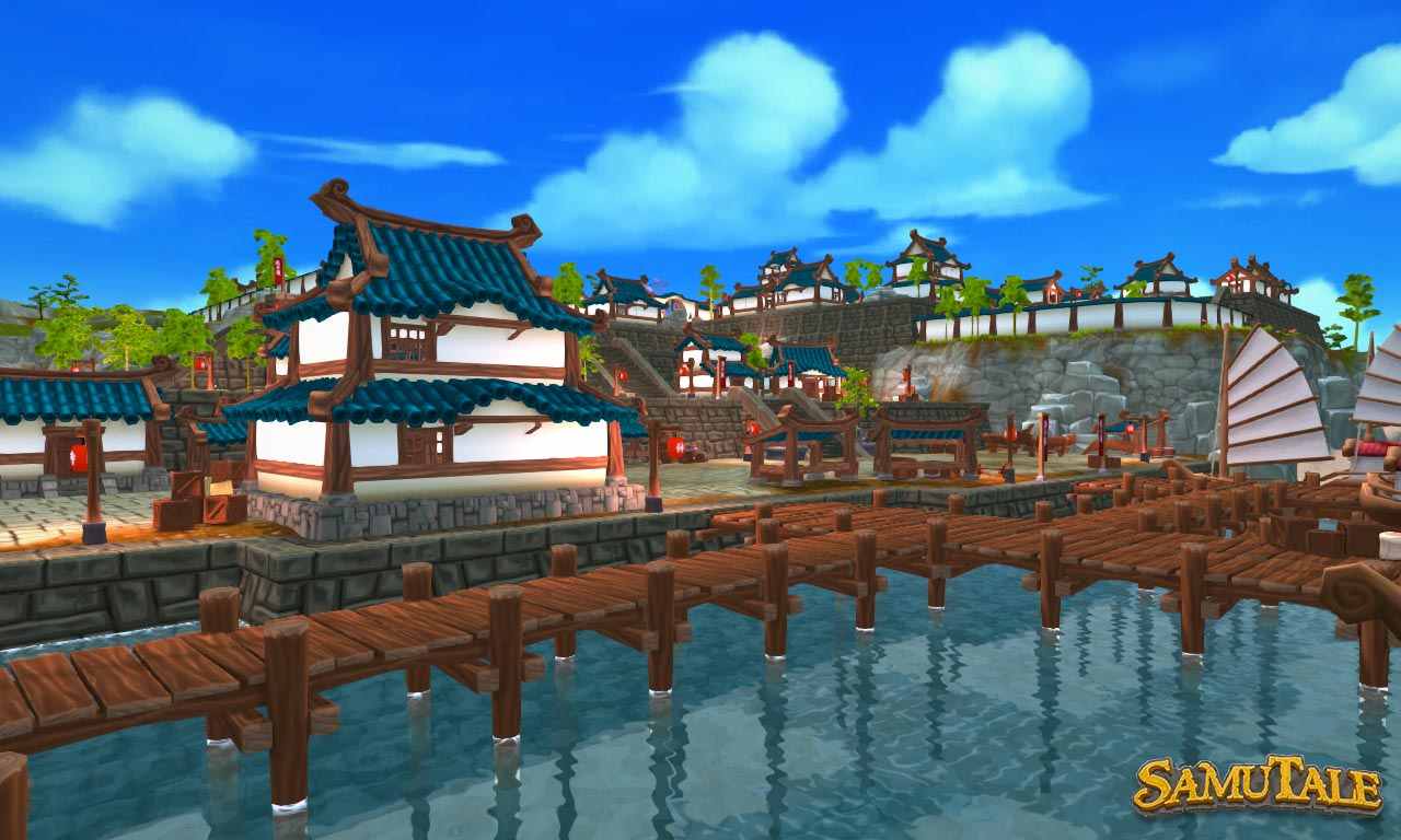 New Okura Village harbor