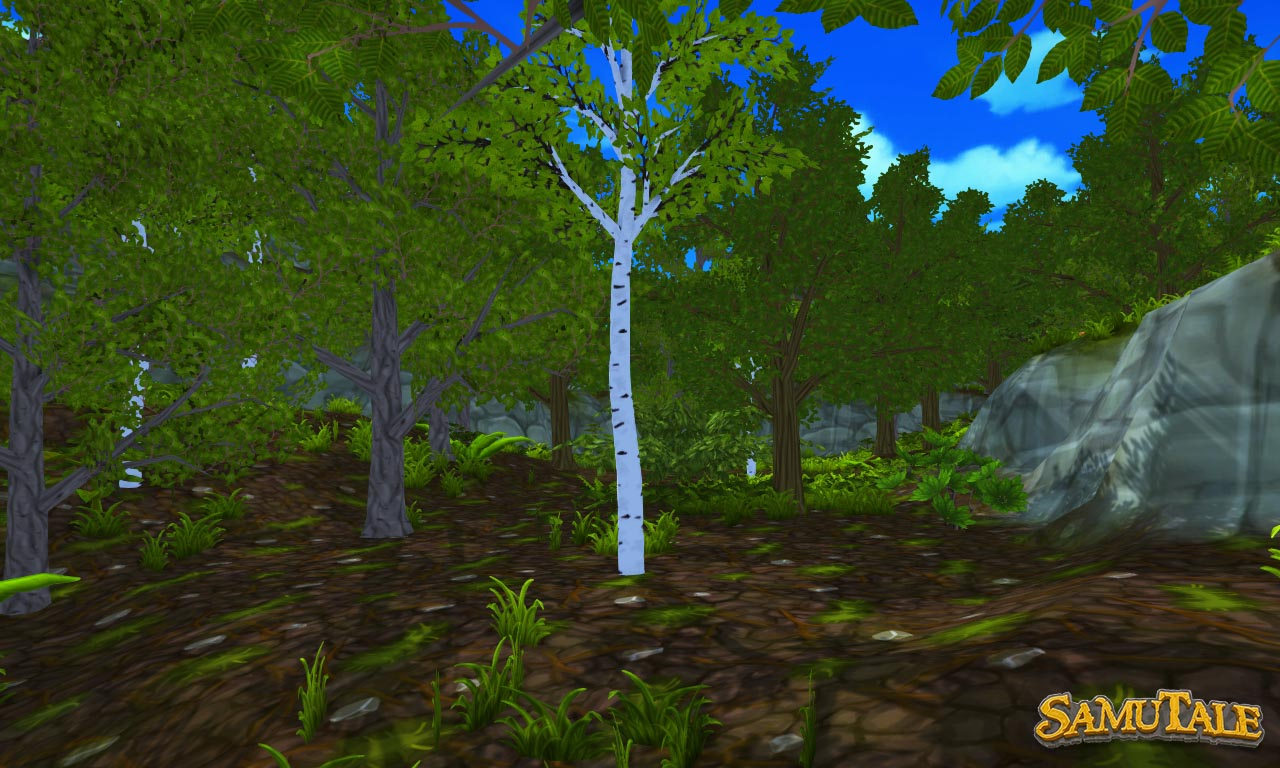 New world terrain containing dense forests