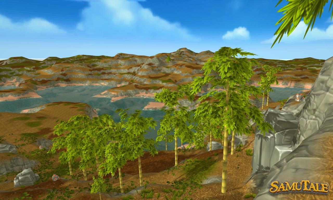 New world terrain bamboo biome