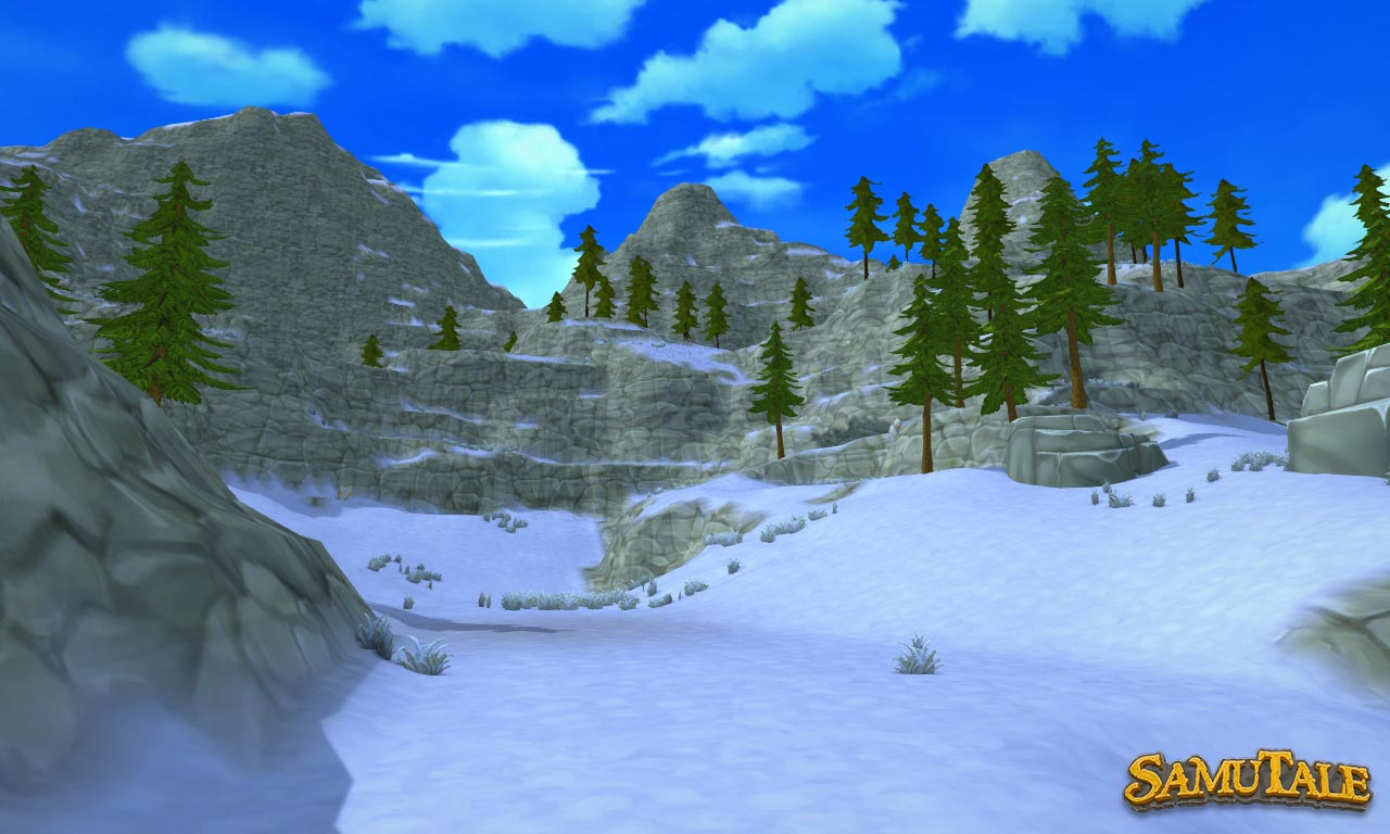 New world terrain snow biome