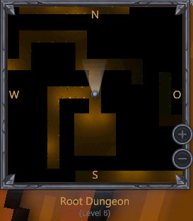 Minimap in a dungeon