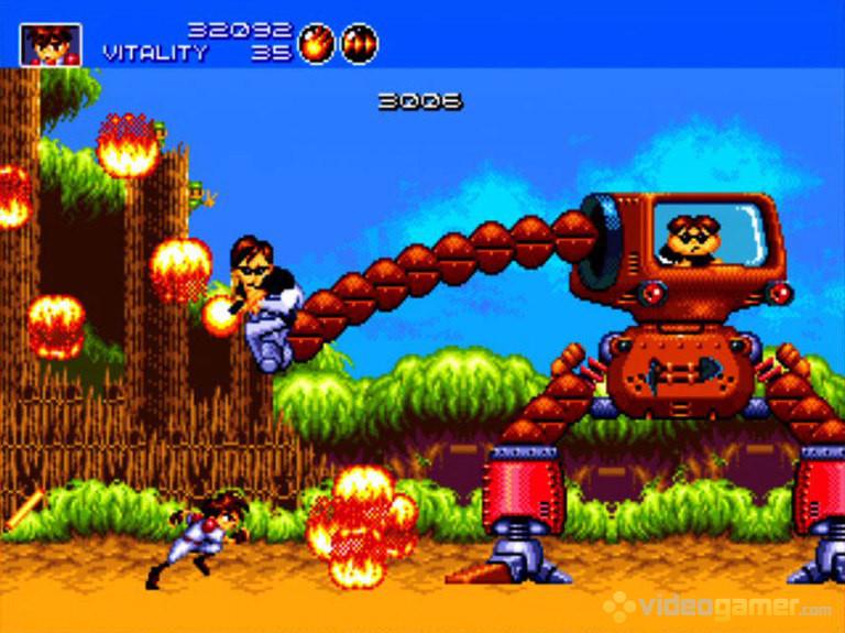 Gunstar Heroes Screenshot 1