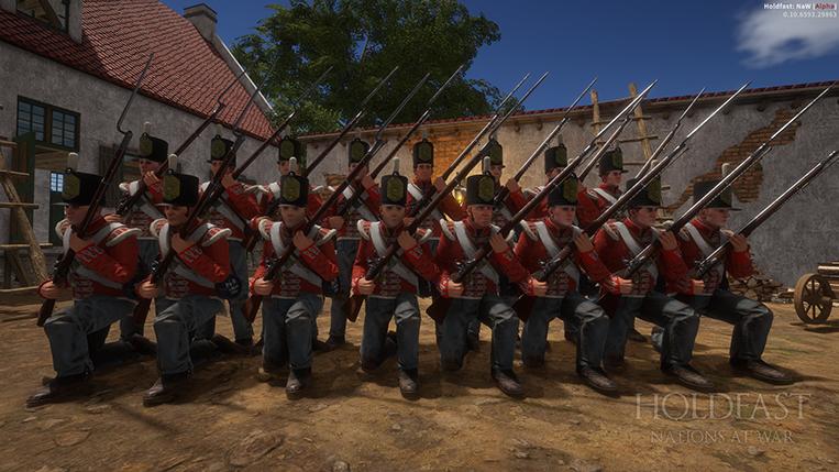 Holdfast NaW - British Grenadiers
