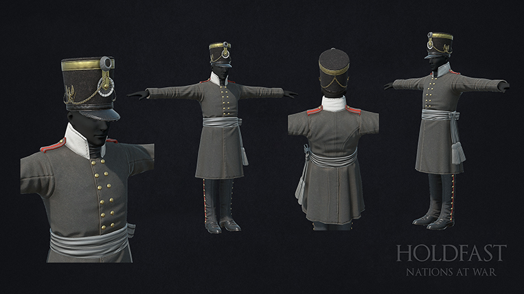 Holdfast NaW - Prussian Officer