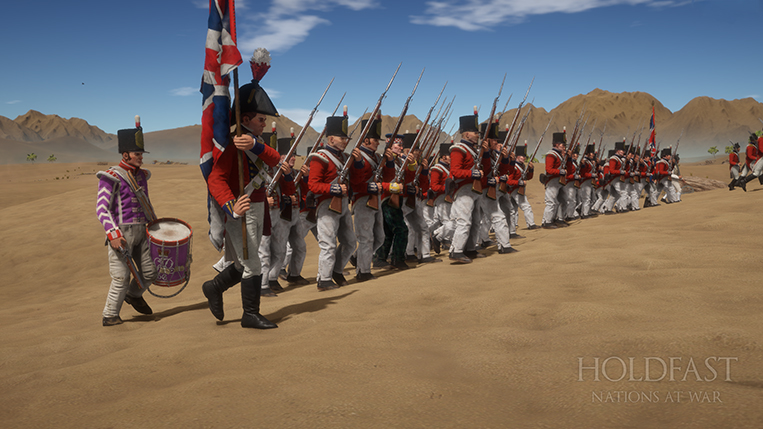 Holdfast NaW - The British In Line
