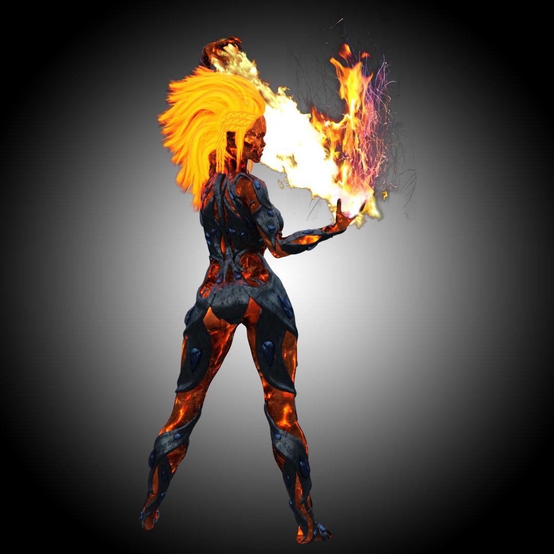 Pyromancer Concept Art