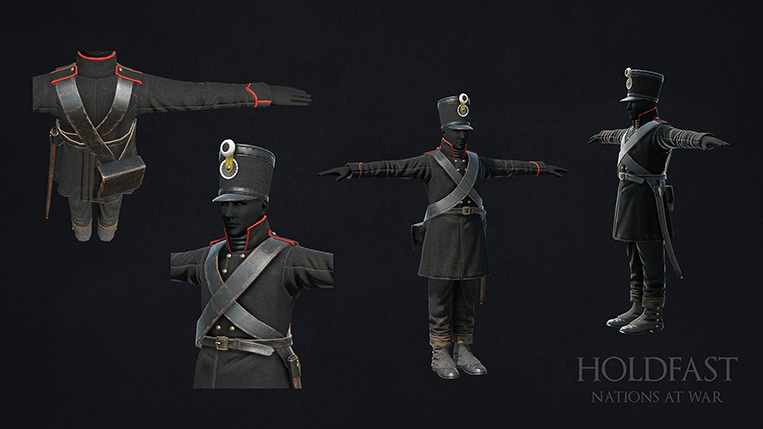 Holdfast NaW - Light Infantry