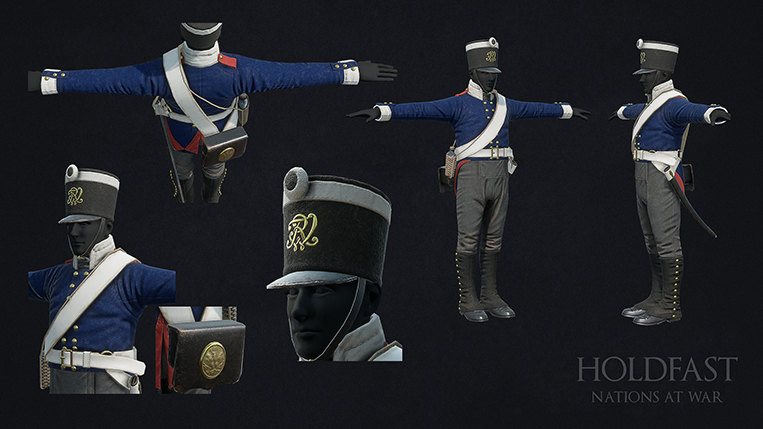 Holdfast NaW - Prussian Line Infantry 1