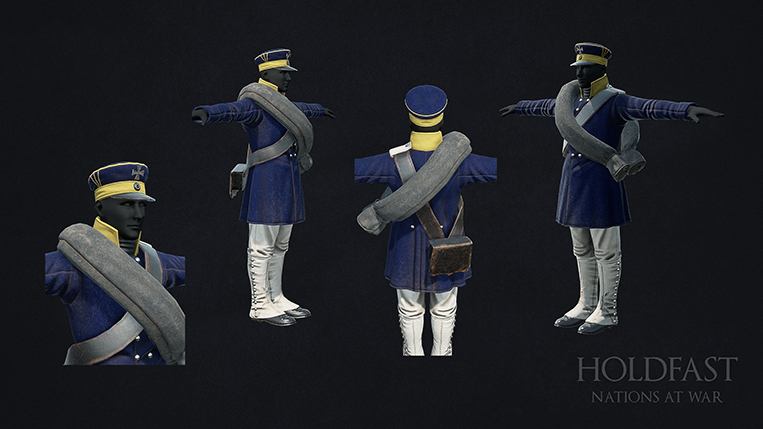 Holdfast NaW - Prussian Line Infantry 2