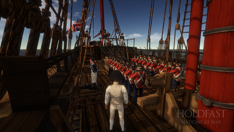 Holdfast NaW - Aboard the Brig