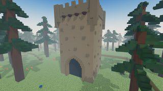 Fir Forest - Dungeon Entrance