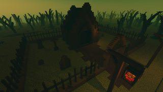 Entrance to a crypt