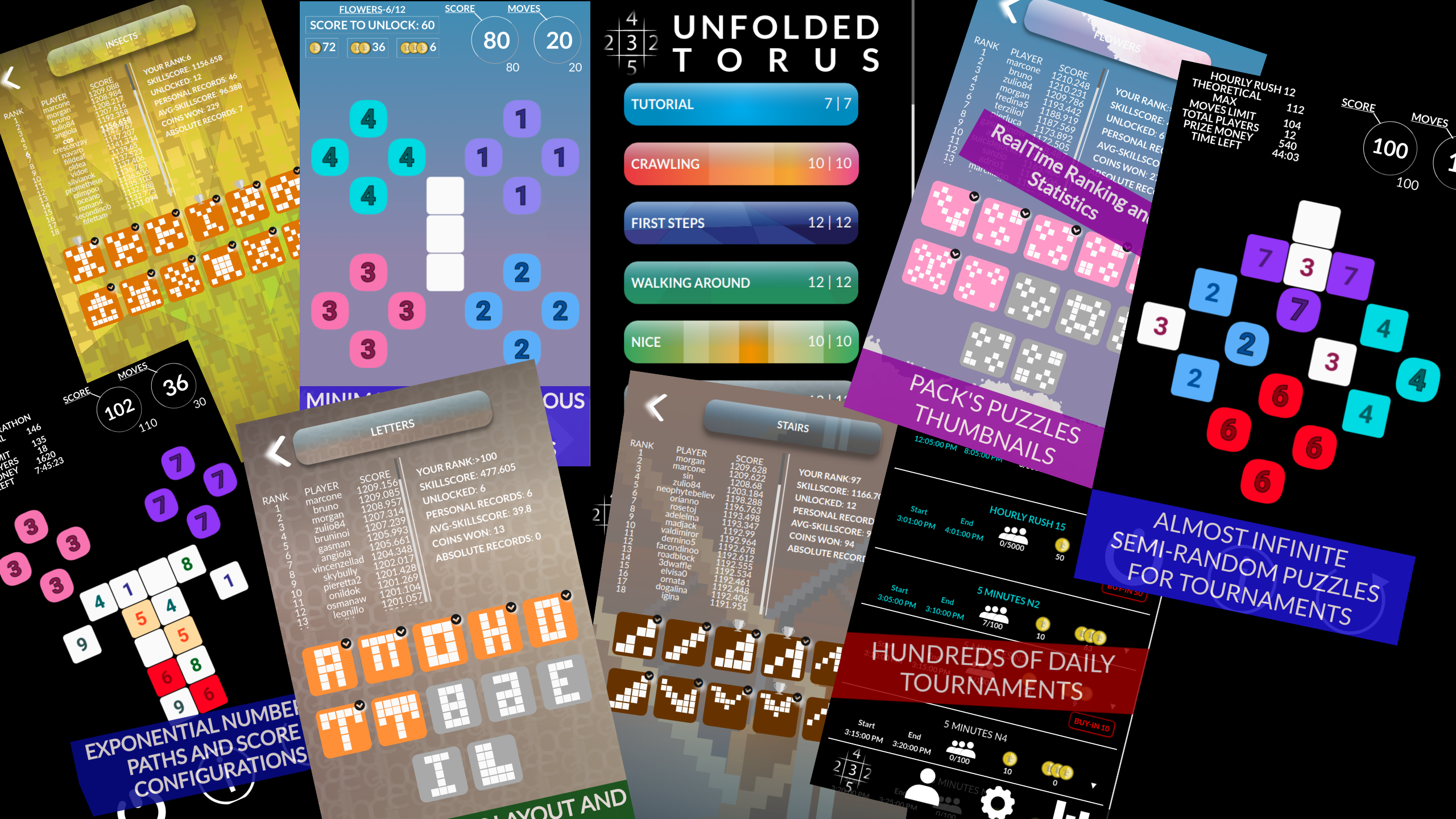 Unfolded Torus a new challenging brain teaser news - Indie DB