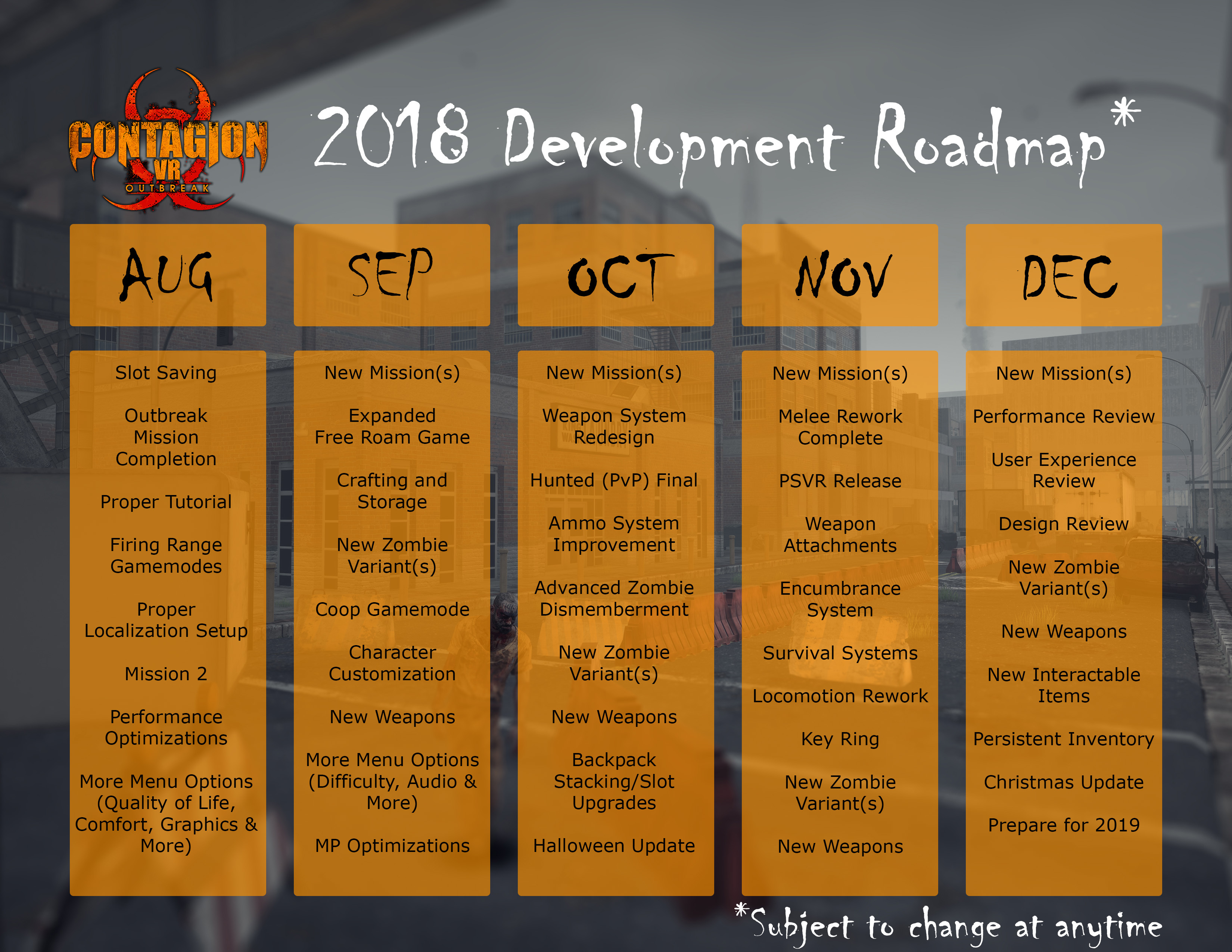 2018 Public Roadmap News Contagion Vr Outbreak Indie Db