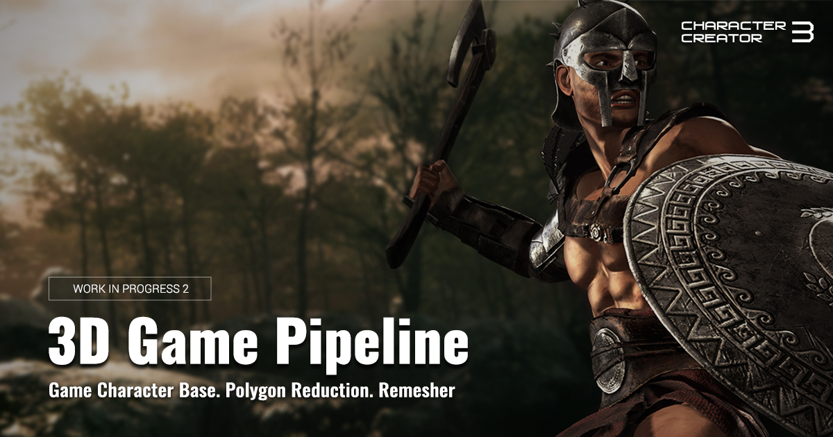 Character Creator 3 - 3D Game Pipeline news - Unity - Indie DB