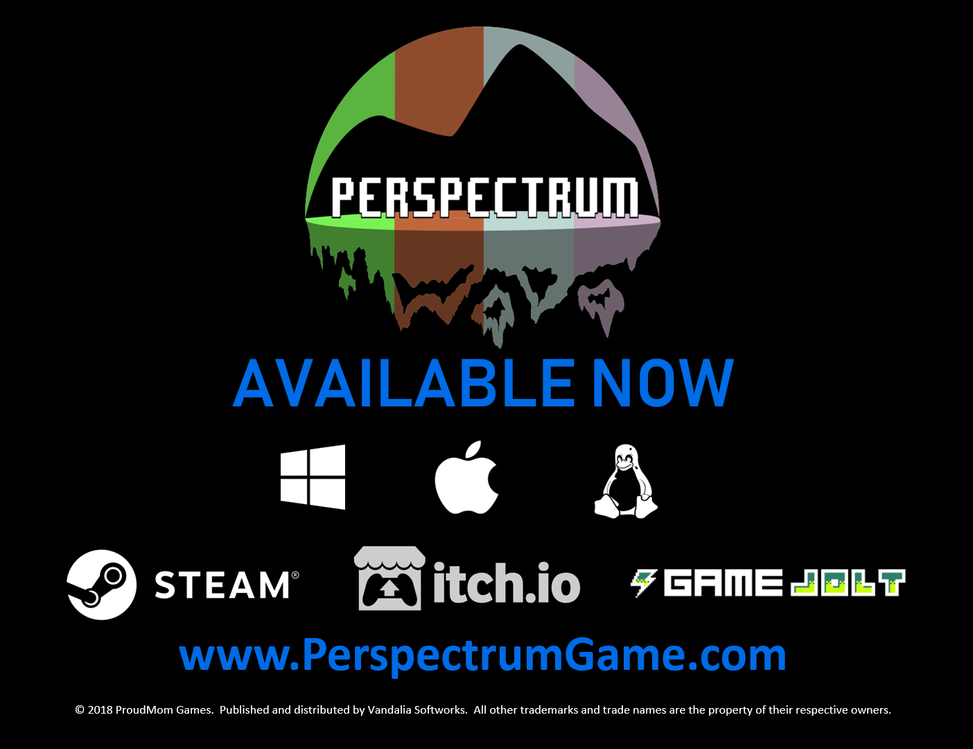 Perspectrum Now Available On Steam Itchio Game Jolt News