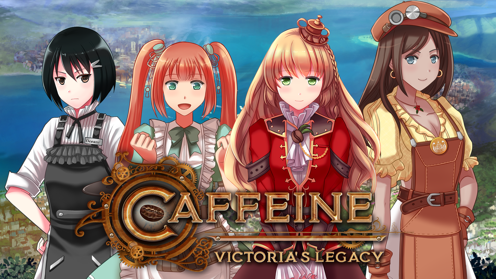 Coffee Is King In New Anime Steampunk Inspired Visual Novel News