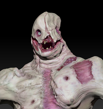The Subject Zbrush Monster