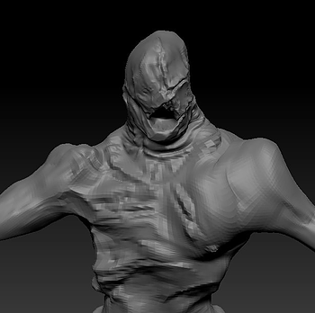 The Subject Zbrush Monster Sketch