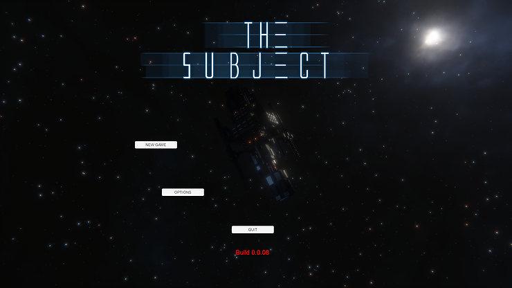 Unity menu UI