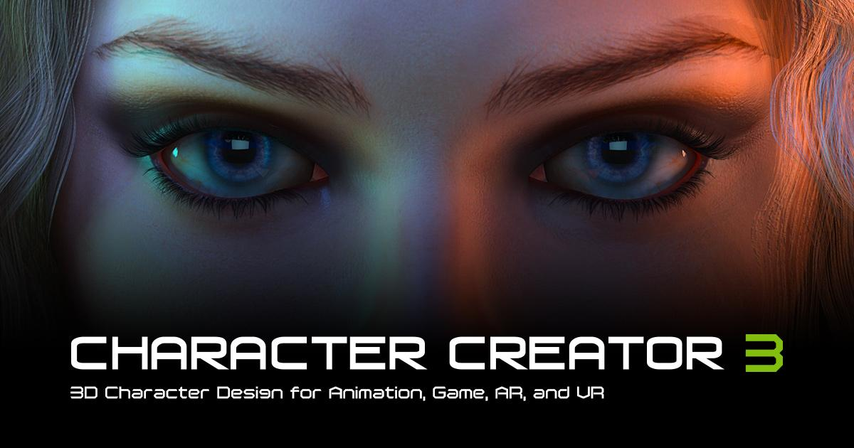 Character Creator 3 releases with ZBrush, Daz3D, Iray and