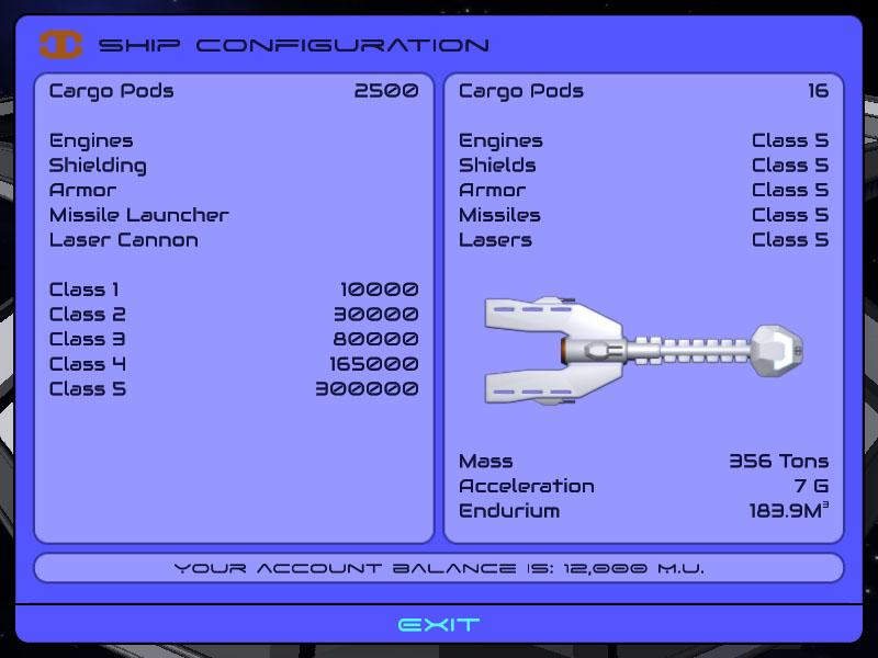 Ship Configuration A
