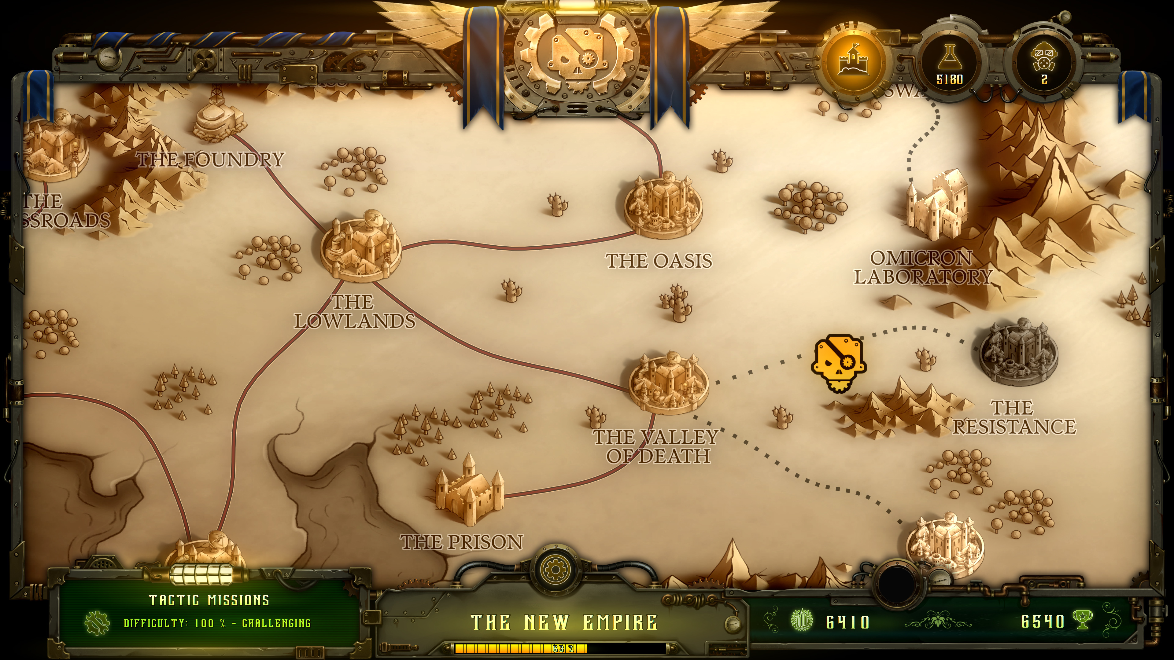 they are billions campaign map