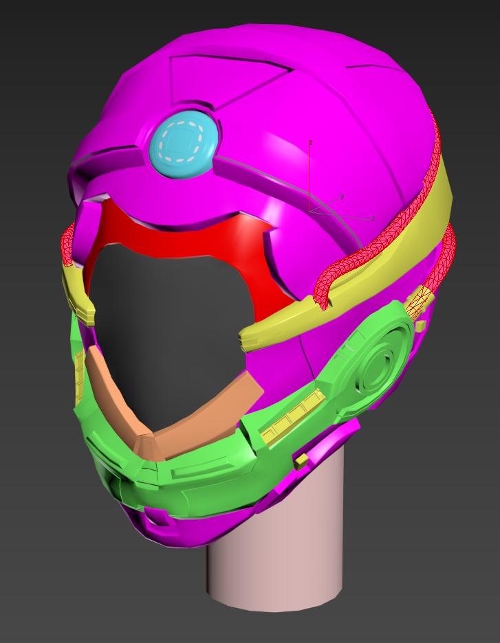 Mechan 9 Head Prototype