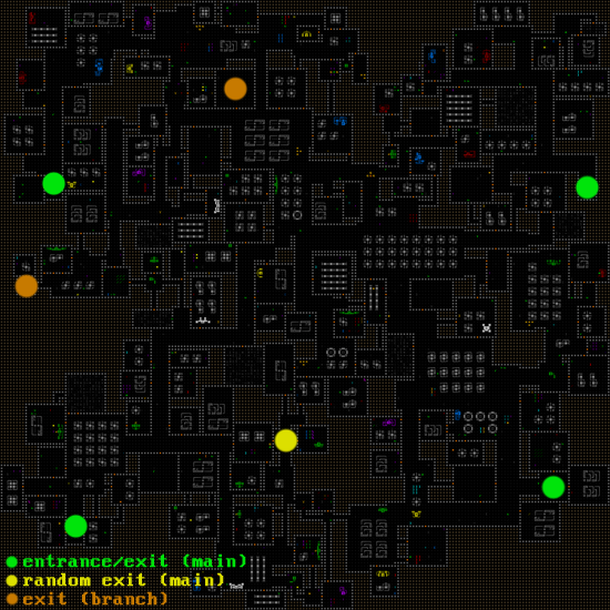 cogmind_factory_map_exits_marked