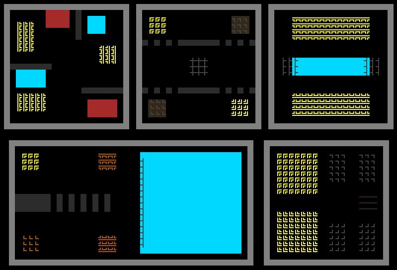 cogmind_mapgen_layout_mockups_various