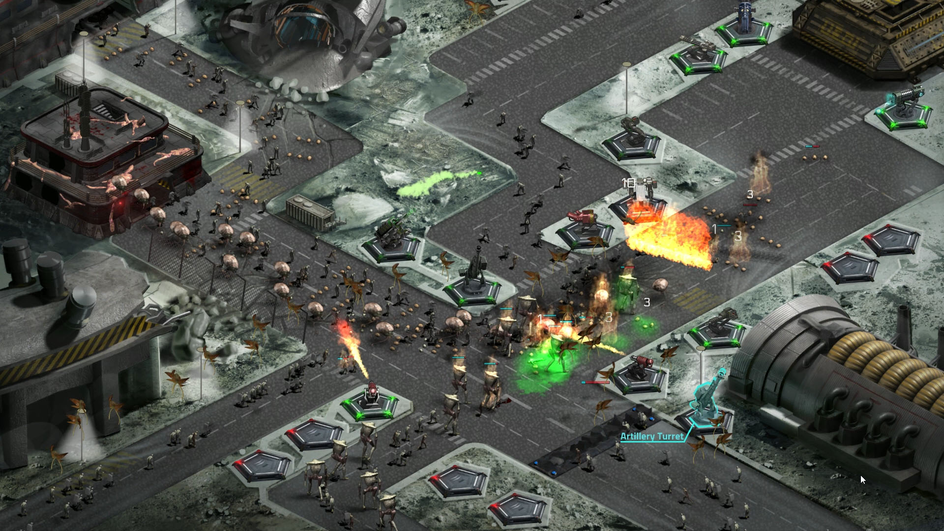 2112TD Battle Screenshot