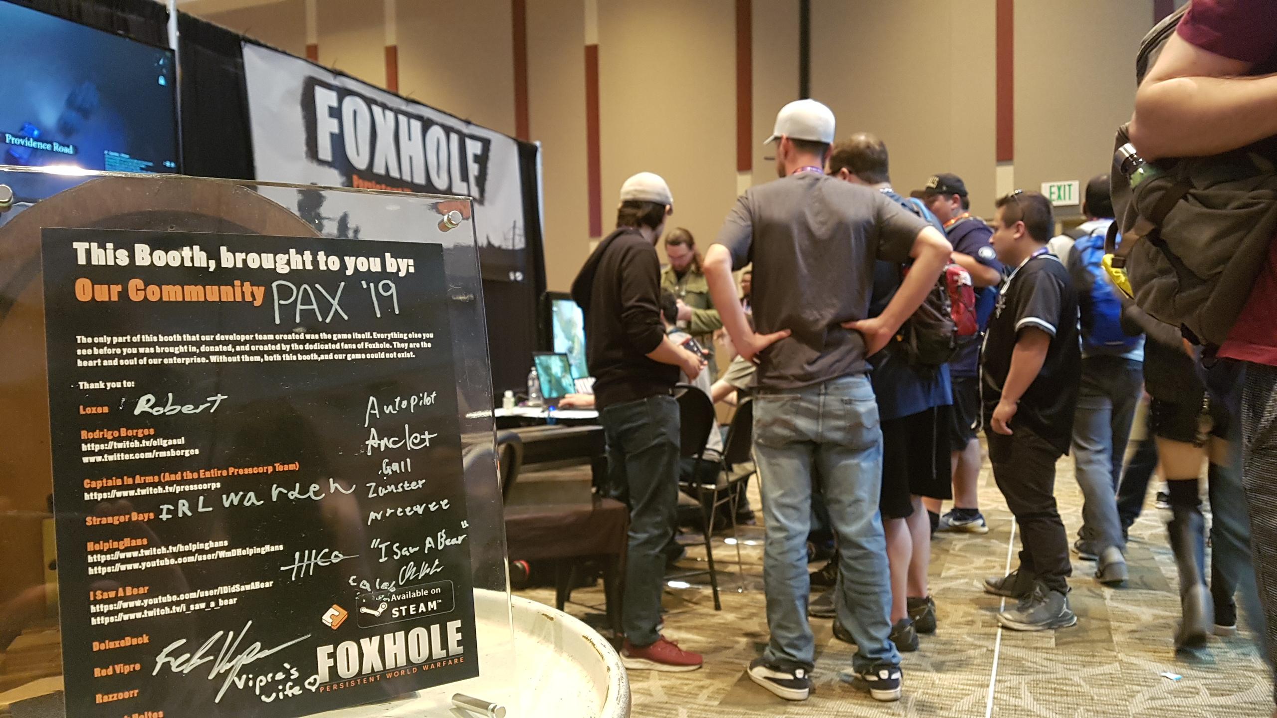 Foxhole Windows game