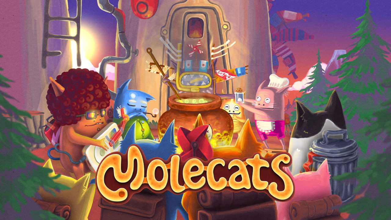 MOLECATS is coming to Nintendo Switch eShop on September 5