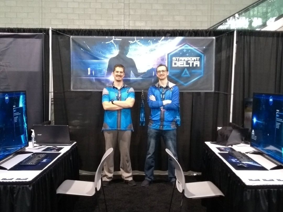 Cloudfire team at PAX East 2019