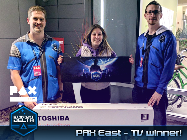 Starport Delta PAX East 2019 TV winner