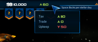 New income/expenses UI
