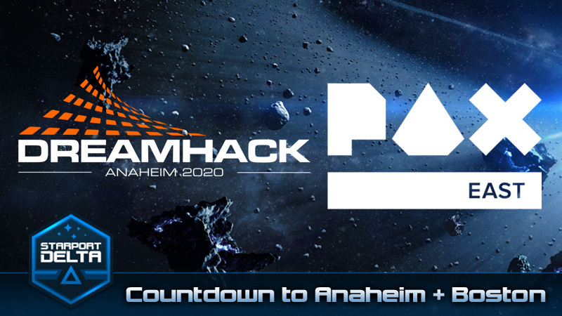 Starport Delta Countdown to Dreamhack and PAX East