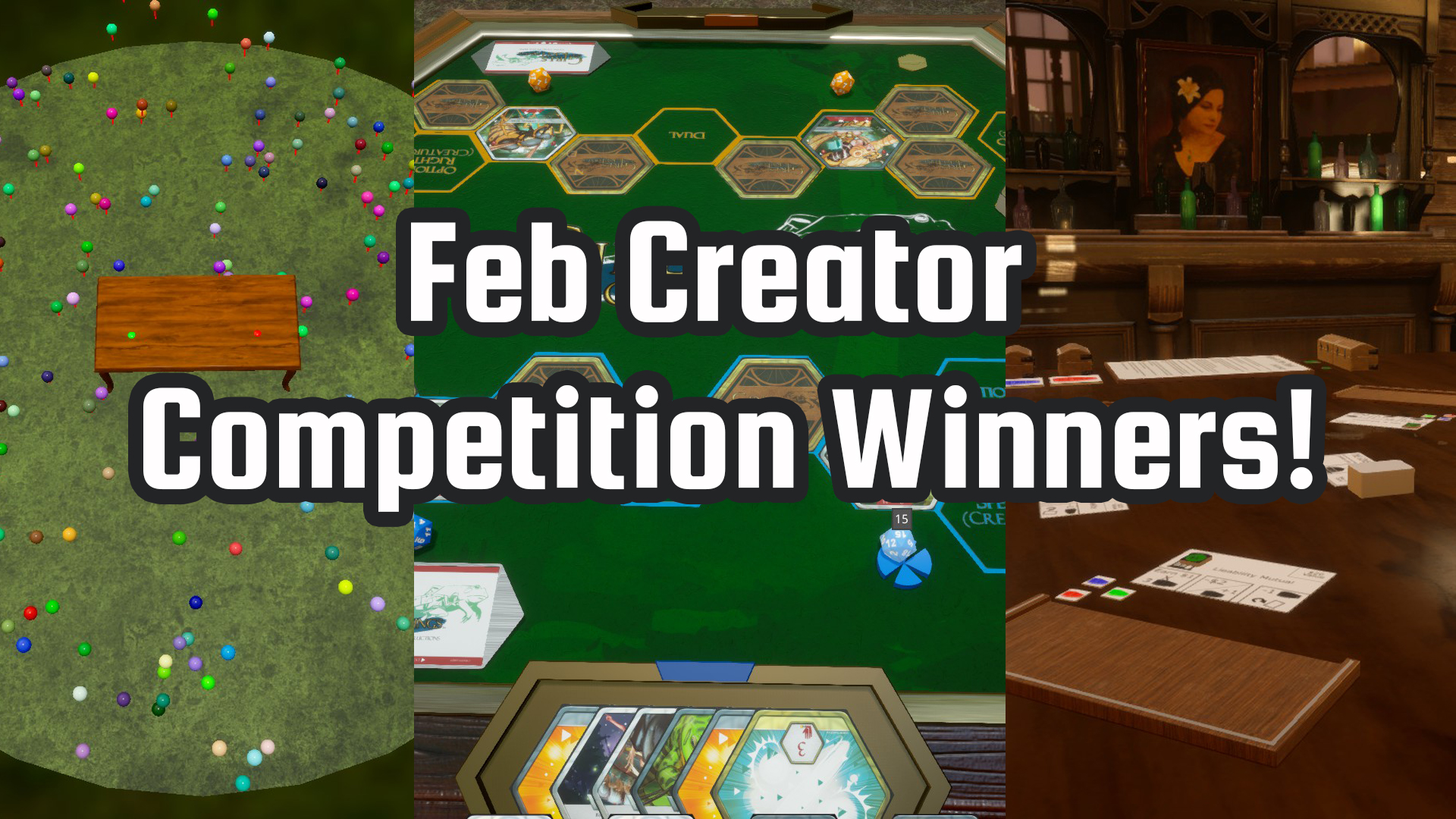 February Creator Competition Winners