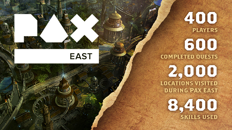 Alaloth - PAX East in numbers