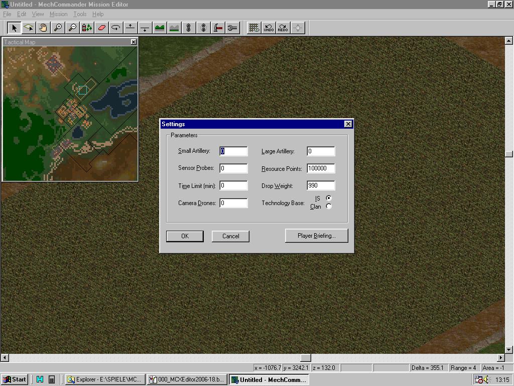 MC Map Editor