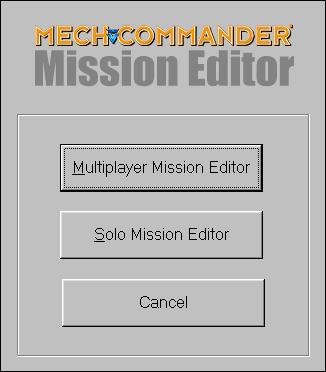 MC Map Editor Launcher Screen