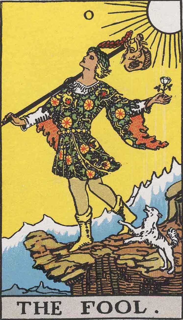 The Fool (Tarot card) - Wikipedia