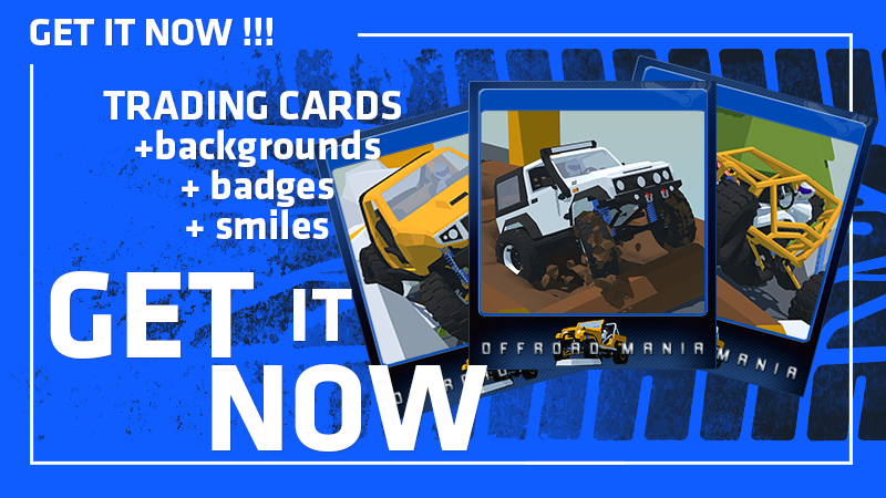 Offroad Mania trading cards