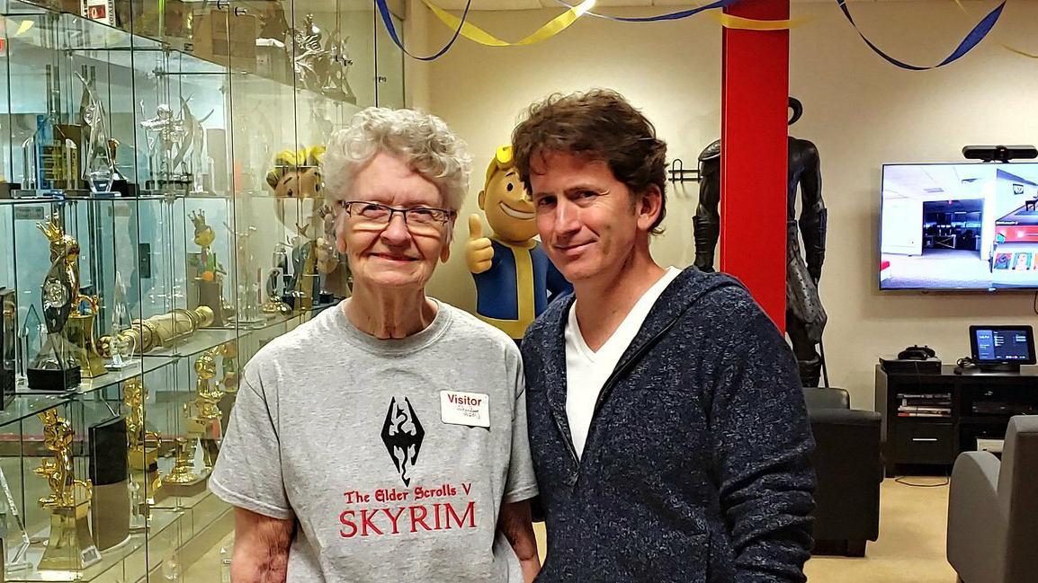 Skyrim Grandma' Shirley Curry will be an NPC in The Elder Scrolls 6 |  TechRadar