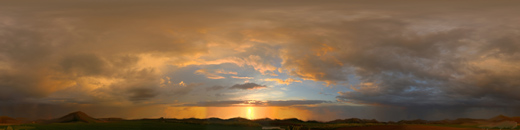Cloud sunset sky