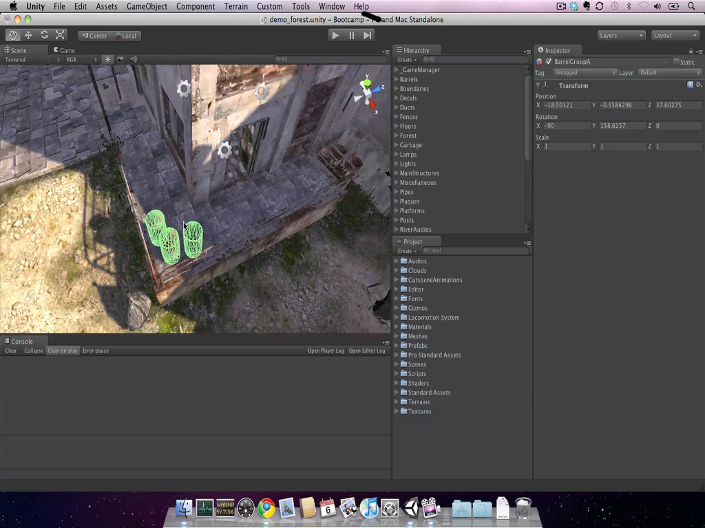 Unity 3 Feature