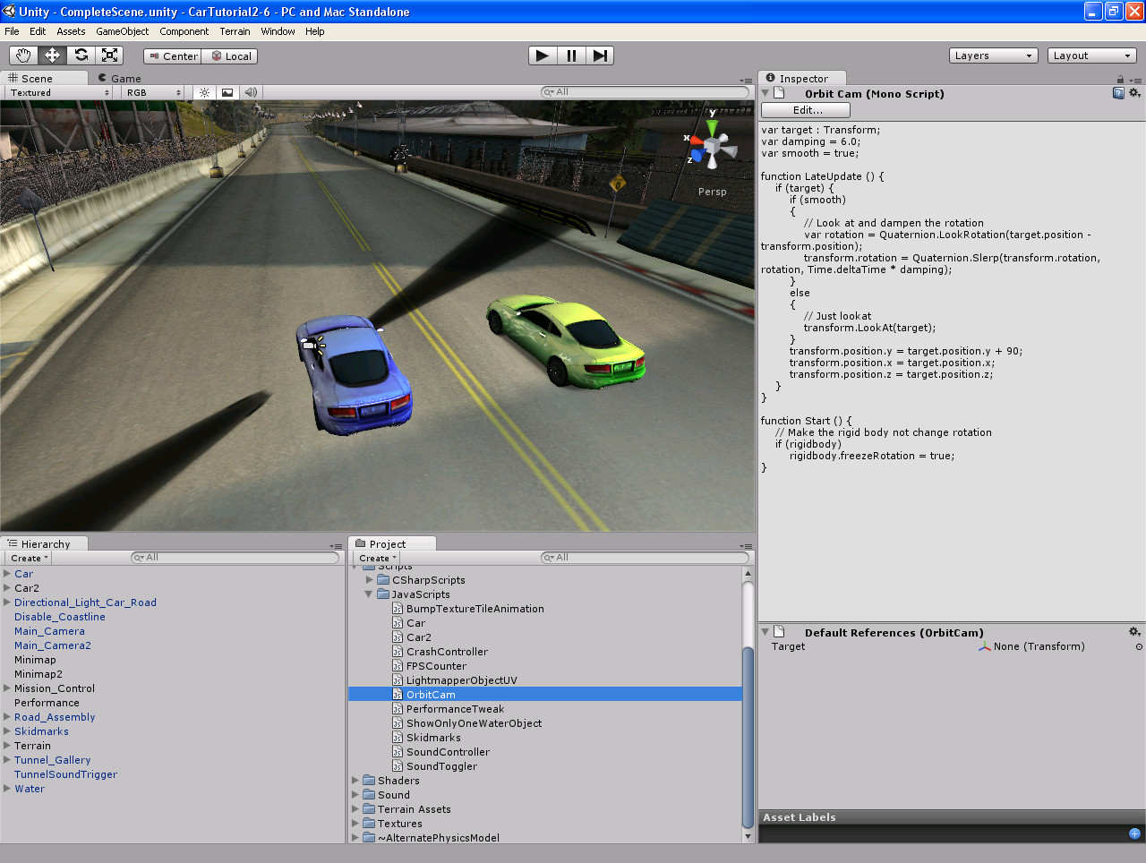Download Unity Car Game Project free - skybackup