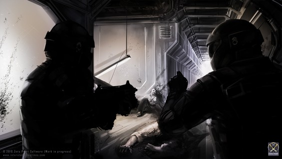 ITO AI 'SARA' has Genetic Research under complete security lock-down, trapping all survivors and allowing all virus infected scientists to kill everybody still alive on-board orbital research station X13!