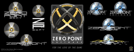 When Nicolai, Gert and I started Zero Point Software back in 2004, we immediately began brainstorming on our company logo (while playing around with modding in UT2004) .. We love our current logo, but still feel a lot of nostalgia looking at these early logo iterations.